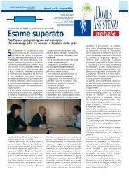 Anno 3 - Domus Assistenza società cooperativa sociale