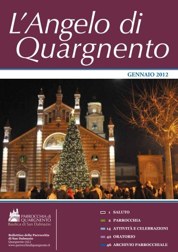 GENNAIO 2012 - Parrocchia di Quargnento