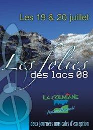 Dimanche 20 juillet à 11h30 - Office du tourisme de la Colmiane