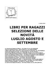 Bollettino 2010-09 (pdf, 2.184 kb) - Sistema Bibliotecario dell'Area di ...
