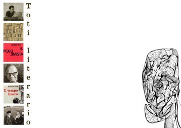 Novelas y Relatos - Revista Sans Soleil