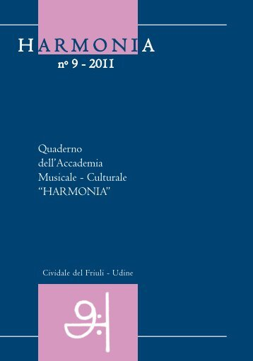 "Download the pdf - Accademia Musicale - Culturale ""HARMONIA"""