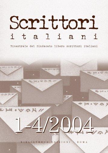 Rivista Slsi 1-4 /2004 - Slsi.It