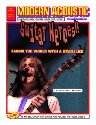 Issue No. 19 Guitar Heroes - Modern Acoustic