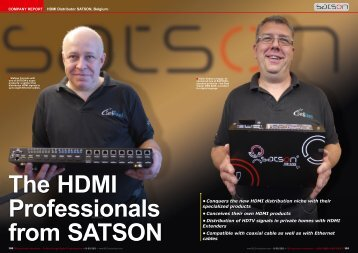 The HDMI Professionals from SATSON