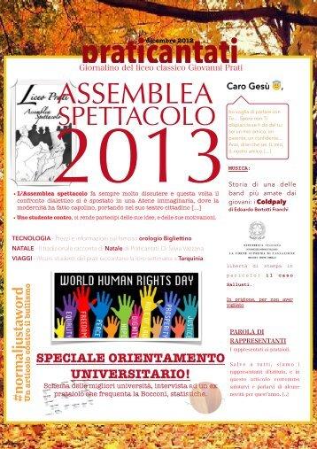 Prat. DICEMBRE 2012 - Praticantati Online