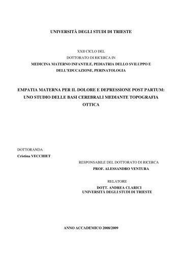OpenstarTs - Università degli Studi di Trieste