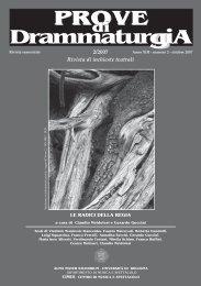 drammaturgia N 2-2007 - Titivillus Mostre Editoria