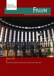 Marzo 2007 - Federación regional de asociaciones de vecinos de ...