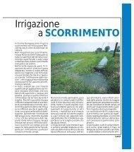 Irrigazione a SCORRIMENTO - Ermes Agricoltura