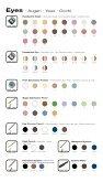 Farbkarte Colour Chart Nuancier Couleur Cartella ... - Kosmetik Kiefer - Page 3
