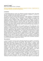 VITO LATTANZI – membro del Consiglio Direttivo di ... - Ecomusei.net