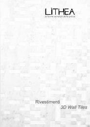 lithea catalogue rivestimenti_3d wall tiles 2013