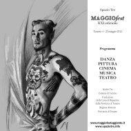 cinema - Maggio Fest