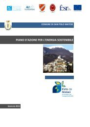 San Polo Matese_PAES - Covenant of Mayors