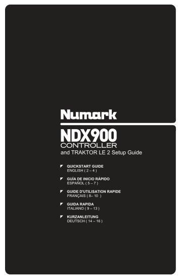 NDX900 Controller - Traktor LE 2 Software Setup - v1.1 - Numark