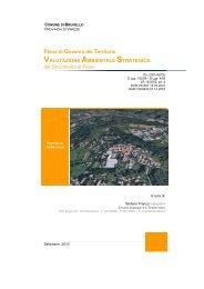 Valutazione Ambientale Strategica - Portale di cartografia on-line ...