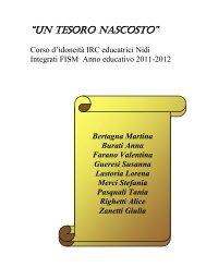 """UN TESORO NASCOSTO"" - FISM Verona"
