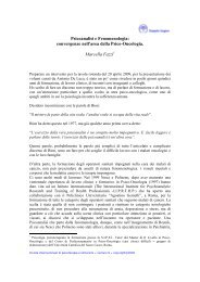 Psicoanalisi e Fenomenologia: convergenze nell ... - Doppio Sogno