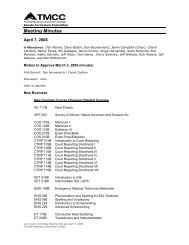 Curriculum Committee Minutes - Truckee Meadows Community ...