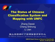 The Reason of Revision of Chinese Standard - UNECE