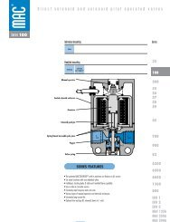 55 Series Catalog Pages - MAC Valves on