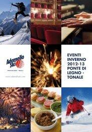 brochure eventi inverno 2012-2013 - Adamello Ski