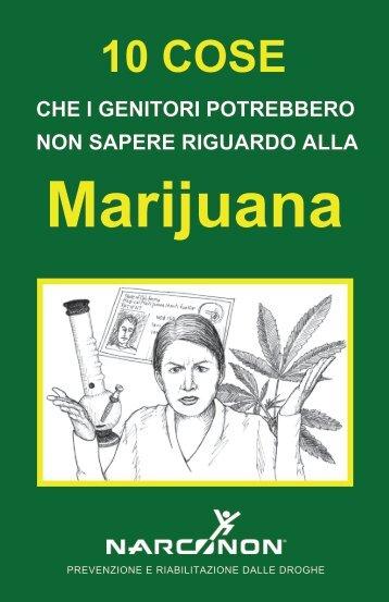 Libretto Marijuana per web versione FINALE CORRETTA - Narconon