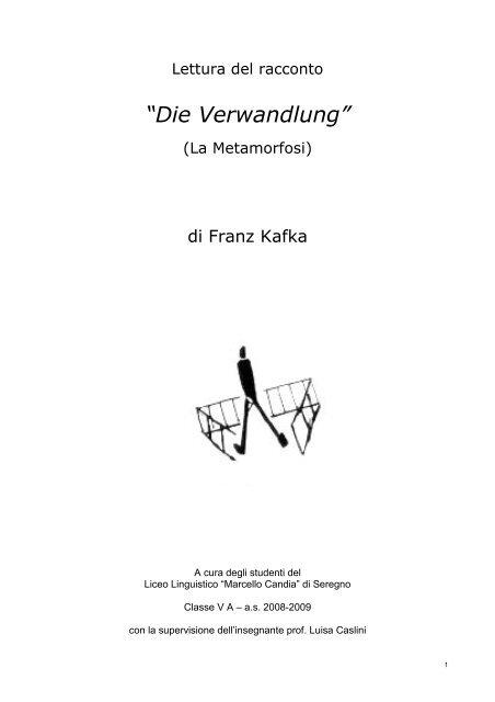 Divano Letto Frau Metamorfosi.Die Verwandlung La Metamorfosi Di Franz Kafka