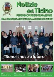 """""""Sono il nostro futuro"""" - Comune di Bernate Ticino"""