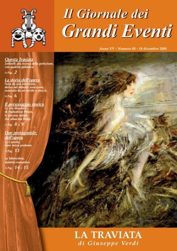 La TRAVIATA 2009 - Il giornale dei Grandi Eventi