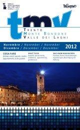 TMV novembre dicembre 2012 - Azienda per il Turismo Trento ...