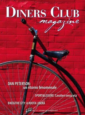 Scarica il numero di Febbraio 2011 in pdf - Diners Club Italia