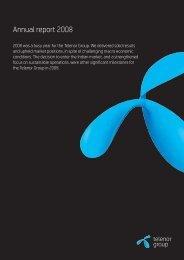 Annual report 2008, 1.19 MB - Telenor