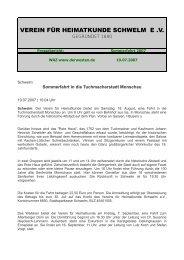 Sommerfahrt 2007.pdf - Verein für Heimatkunde Schwelm eV