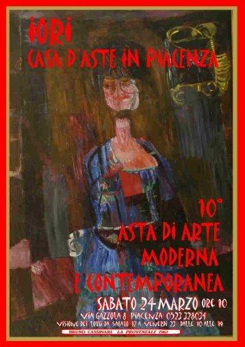 catalogo asta 10 - IORI CASA D'ASTE in Piacenza