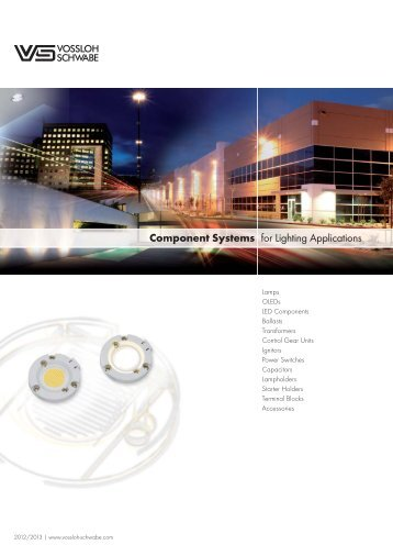 Component Systems for Lighting Applications