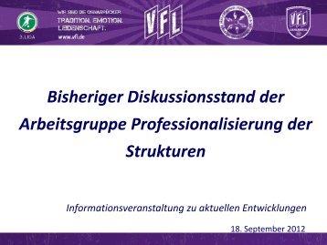 120918_praes_kroeger.pdf - VfL Osnabrück