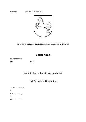 Nummer - VfL Osnabrück