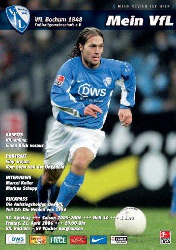 Mein VfL Heft 16 low.ps - VfL Bochum