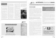 architetticatanzaronews - Ordine degli Architetti della provincia di ...
