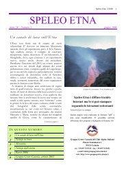 SPELEO ETNA - Gruppo Grotte Catania