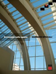 Evoluzioni nello spazio ELEMENTI SPECIALI - Edilgori