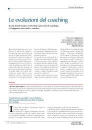 Le evoluzioni del coaching - CPC | Comunità di Pratica di Coaching