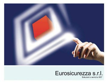 Il general contractor - Eurosicurezza