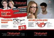 Brillen - Diekstall Cloppenburg