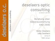 deselaers optic consulting