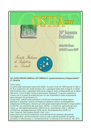 GLI ACIDI GRASSI OMEGA-3 ED OMEGA-6 - Bambino Progetto ...