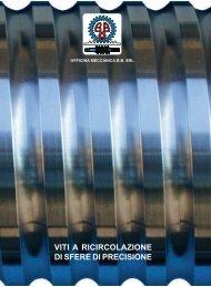 viti a ricircolazione di sfere di precisione - Officina Meccanica BB