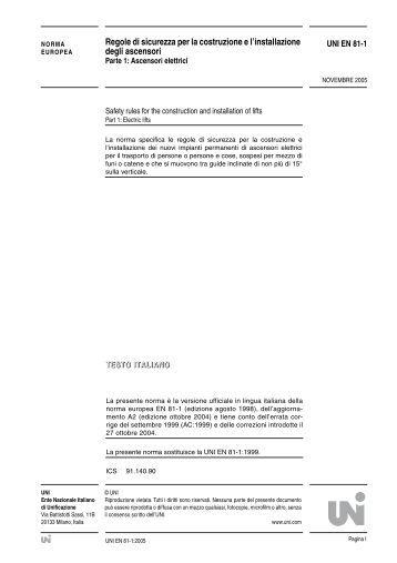 Normativa Ascensori Uni En 81 80 : Quadro di manovra per ascensore ez elevator